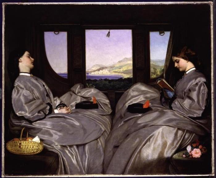 Augustus Egg, 'The Travelling Companions' © Birmingham Museums and Art Gallery