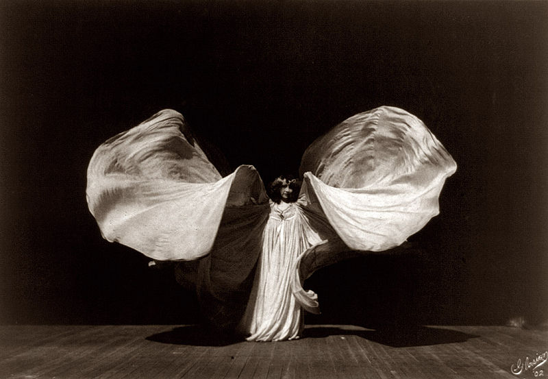 F Glasier Loïe Fuller 1902