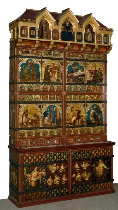 Burges bookcase